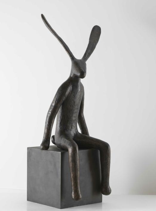 Spectator | Bronze | 166x70x65cm | Edition of 16 | Guy du Toit