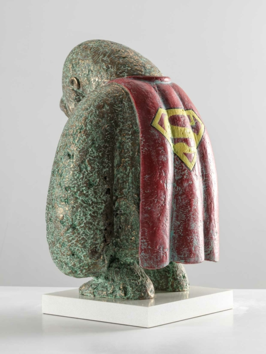 Hero | Bronze | 32x23x44cm | Edition of 8 | Samuel Allerton