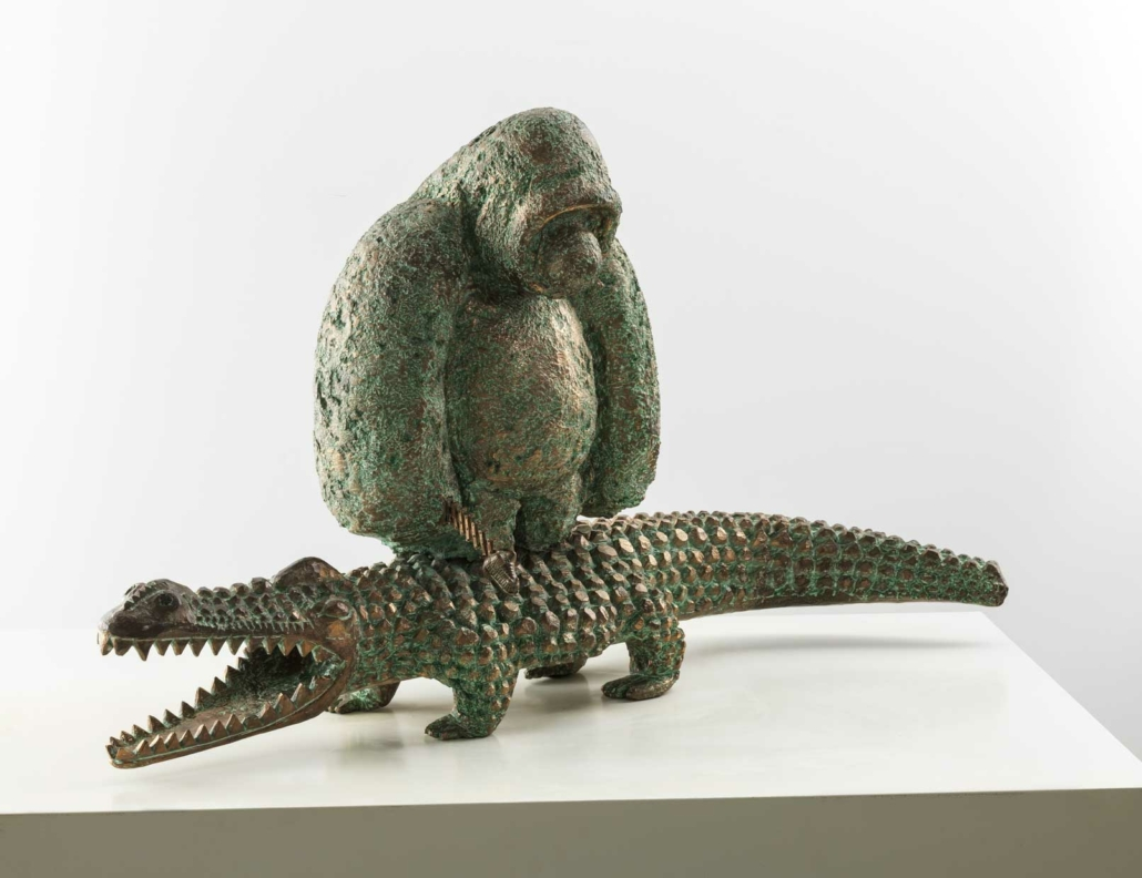 Joy Ride | Bronze | 70x120x33cm | Edition of 8 | Samuel Allerton