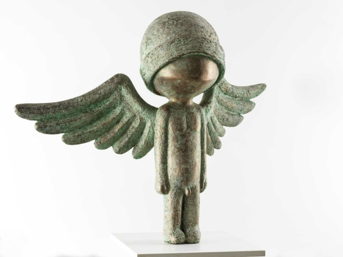 Large Angel Warrior | Bronze | 150x115x60 | Samuel Allerton