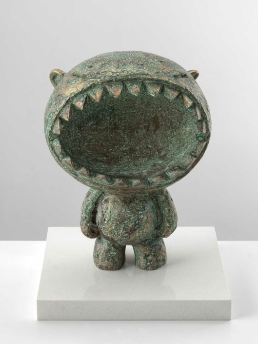 Mute | Bronze | 22x35x22cm | Edition of 10 | Samuel Allerton