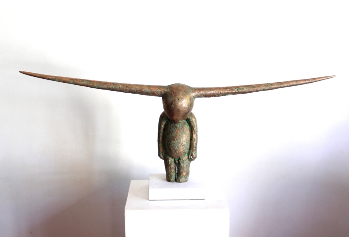Side Horns | Bronze | 125cmx50x25cm | Edition of 10 | Samuel Allerton