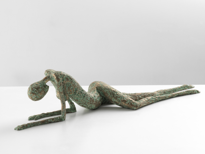 Wounded | Bronze | 72x20x15cm | Edition of 15 | Samuel Allerton