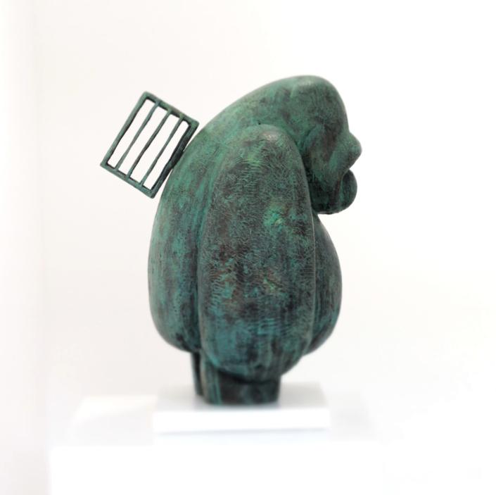 Pilgrim | Bronze | 34x34x52cm | Edition of 8 | Samuel Allerton