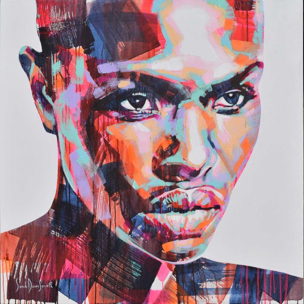 W Series 9/24 | 120x120cm | Acrylic on canvas | Sarah Danes Jarrett